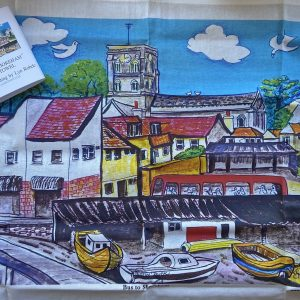 Tea Towel- Bus To Shoreham Tea Towel
