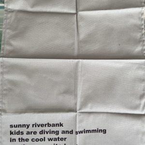 Tea Towel – Moonink- Sunny Riverbank – Tea Towel