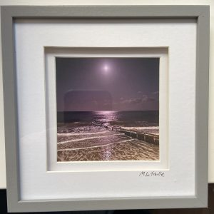 Framed Photography – Shanklin, Isle of Wight (Moonlight)