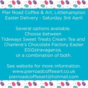 Lockdown- Cream Tea & Easter Chocolate Bar For 2 (Option E)