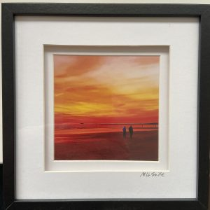 Framed Photography – Sunset Walk