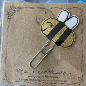 Textiles – Bee Bookmark