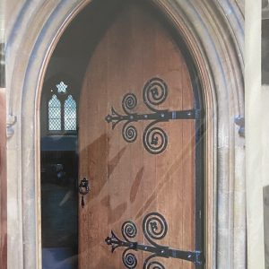 Art Card – Church Door (colour) (LG)