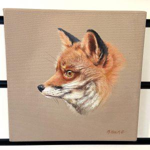 Original Paintings – The Fox (MH)