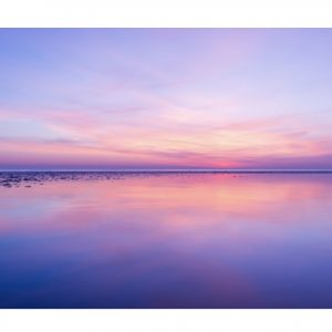 Photography On Canvas – Sunset (pink) (TF)