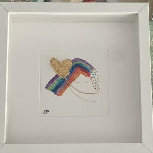Original Paintings – Rainbow Heart