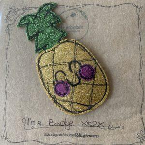 Textiles – Pineapple Badge