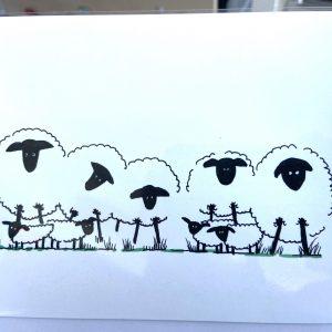 Art Card – Sheep
