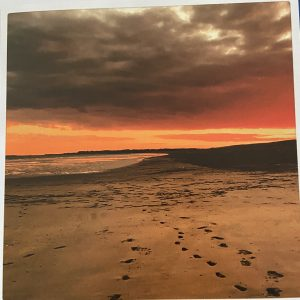 Art Card – Footprints In The Sand