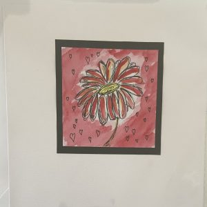 Art Card – Valentine's Card – Flower