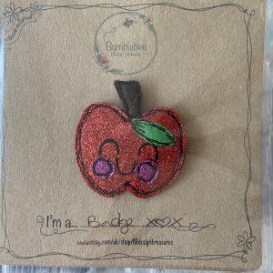 Textiles – Apple Badge