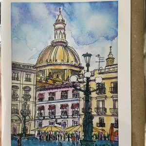 Art Card – Palace In The Piazza