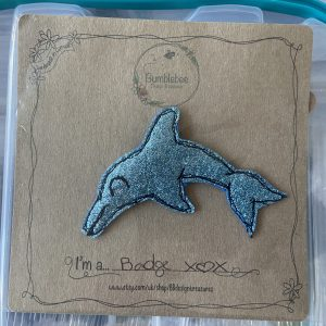 Textiles – Dolphin Badge