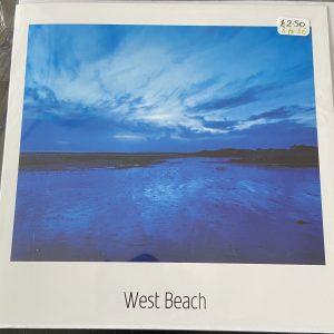 Art Card – West Beach (blue)