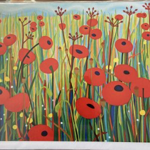 Art Card – Simply Poppies
