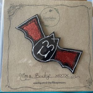 Textiles – Bat Badge