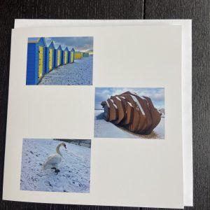 Art Card – Littlehampton In The Snow (Xmas Range)