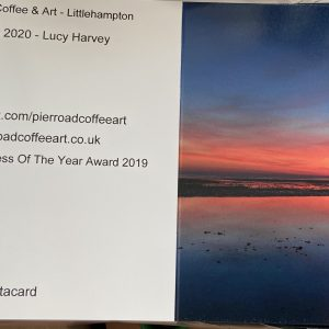Art Card – East Beach Sunset