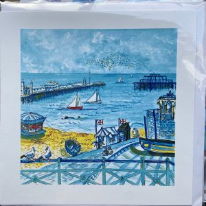 Art Card – Brighton Seafront