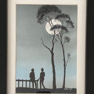 Original Paintings – Moonlight (Watercolour)