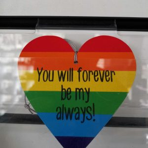 On Wood – You Will Forever Be My Always!
