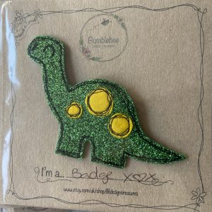 Textiles – Dinosaur Badge
