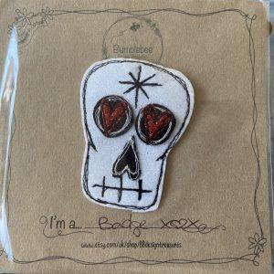 Textiles – Skull Badge