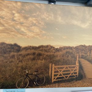 Photography On Canvas – Sunglasses Collection (Bike- West Beach)