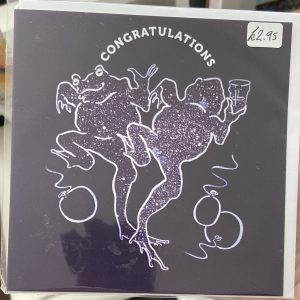 Art Card – Congratulations (purple)
