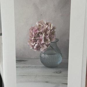 Art Card – Pink in a Vase