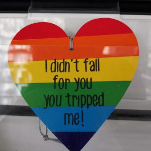 On Wood – I Didn't Fall For You You Tripped me!