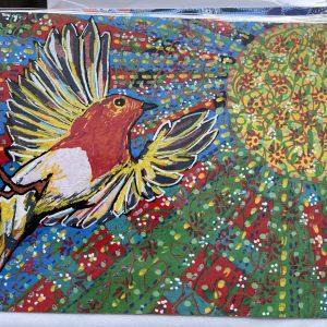 Art Card – Red Bird (LW)