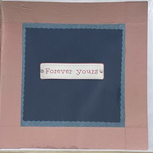 Art Card – Forever Yours (blue)