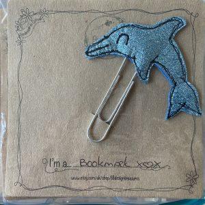 Textiles – Dolphin Bookmark
