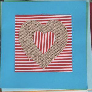 Art Card – Heart (CT)
