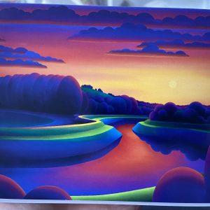 Art Card – Adur Sunset