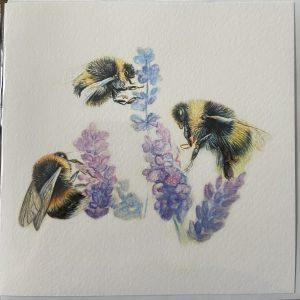 Art Card – Bees (JB)