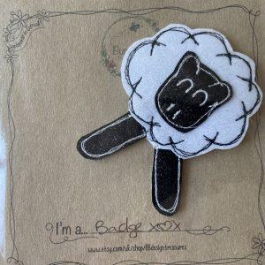 Textiles – Sheep Badge