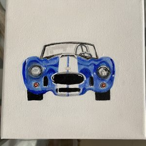 Original Paintings – Sports Car (blue)