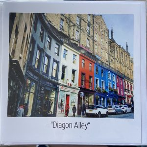 Art Card – Diagon Alley (Harry Potter Inspiration)