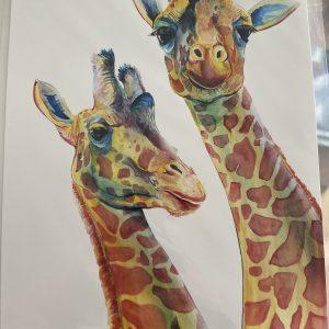 Print – Giraffe