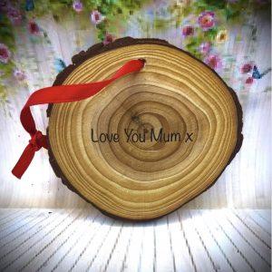 On Wood – Love You Mum Hanger