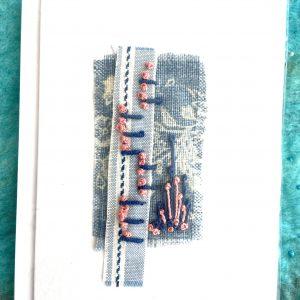 Art Card – Landscape (original textile)
