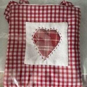 Textiles – Heart (small bag)