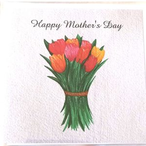 Art Card – Tulips (Mother's Day)