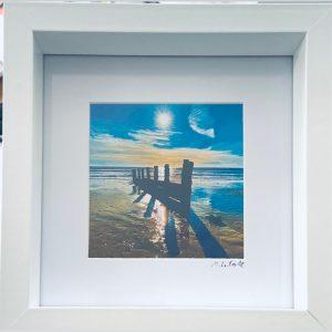 Framed Photography – Untitled (Blue)