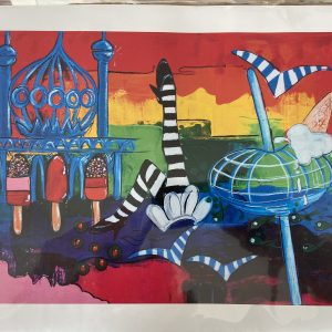 Print – Brighton 360 Seaside Postcard