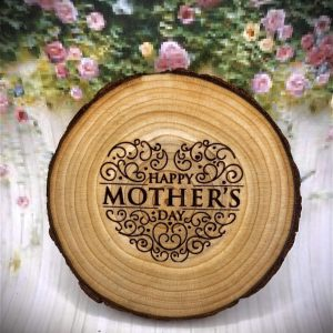 On Wood – Happy Mother's Day Coaster