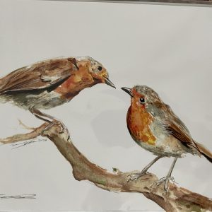 Print – Robins (Limited Edition)