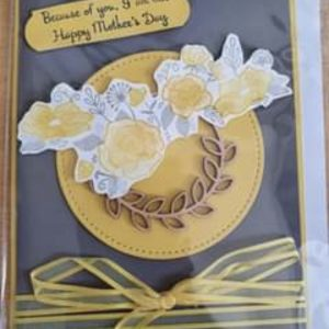 Art Card – Happy Mother's Day – (yellow)